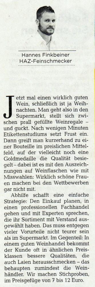 lindenerweinladen hannover presse autor - Lokale Presse: Herr Bothe und die Perlen im Regal